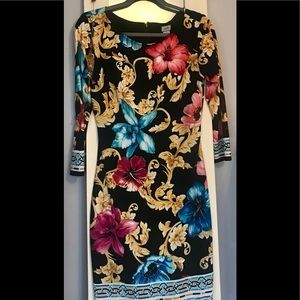 Cache Sheeth Dress Size 2 (fits like a small).